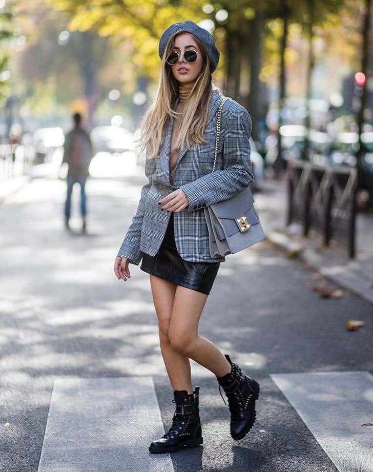 43657f8c348 7 Outfit Ideas to Wear with Lace-Up Boots | fashion | Combat boot ...