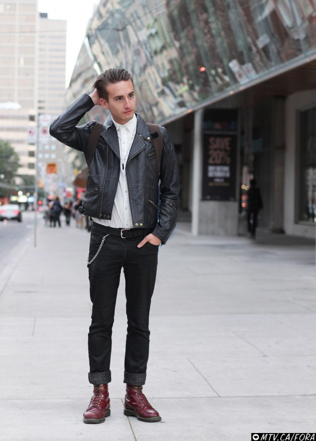 Rock And Roll Style Clothing For Men Images Galleries With A Bite