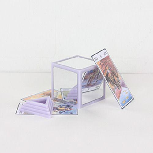 MIRROR FIT #01 (Violet) 모리코모 인테리어 소품 화장대