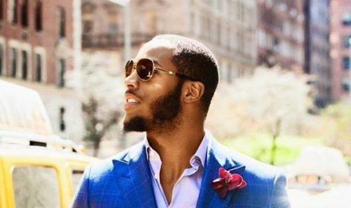 Friendly Mutton Chops Beard For Black Men