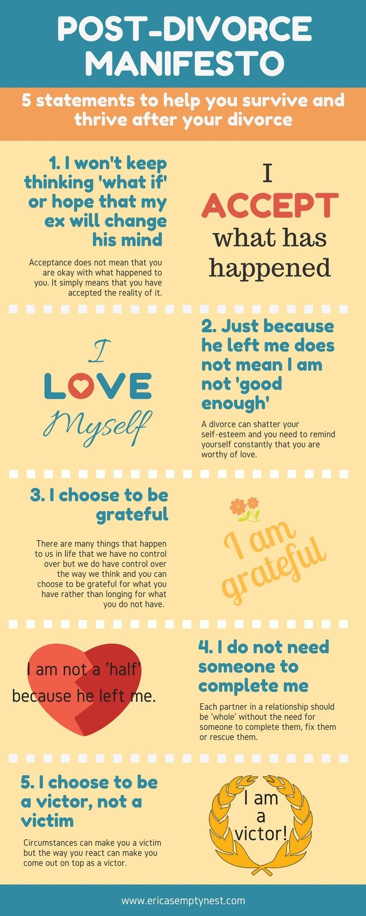 Best 25 dealing with divorce ideas on pinterest hard love while going through my divorce i read many helpful books and received plenty of advice from other divorced women not all of the advice was helpful but i solutioingenieria Images