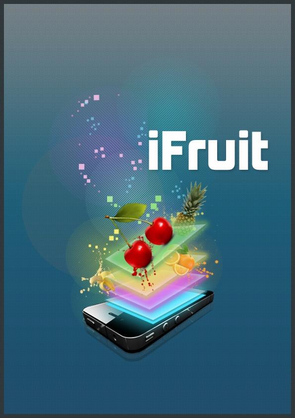 iFruit - David Archbold  #graphicdesign #design #art #digital #aminated #logo