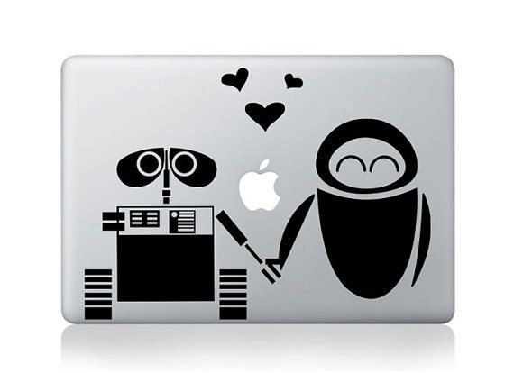 Wall e mac decal macbook decals macbook stickers vinyl decal for apple