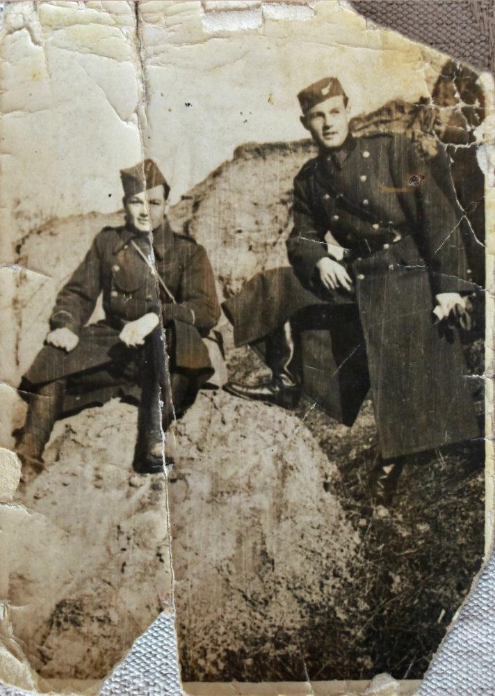 Jan Kubiš (on the left)