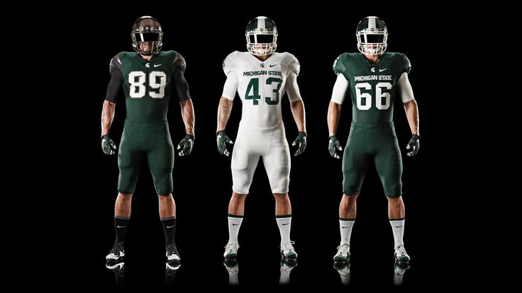Nike News - Michigan State Football Updates Nike Uniform Design