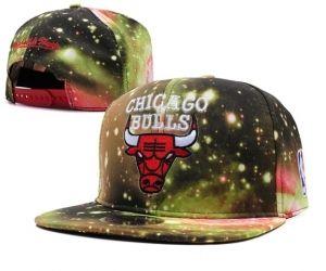 Casquette NBA Chicago Bulls Galaxy Snapback Jaune : Casquette Pas Cher