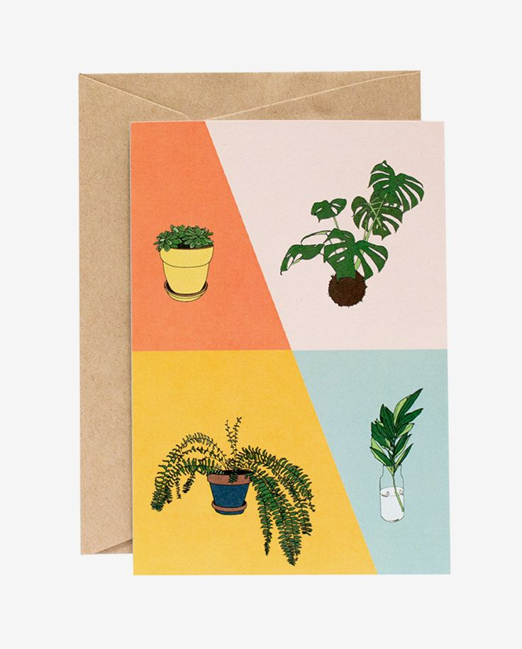 Geo Flora Card