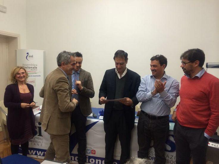 Roma, 25 gennaio 2014 corso di formazione per dirigenti nazionali #asi