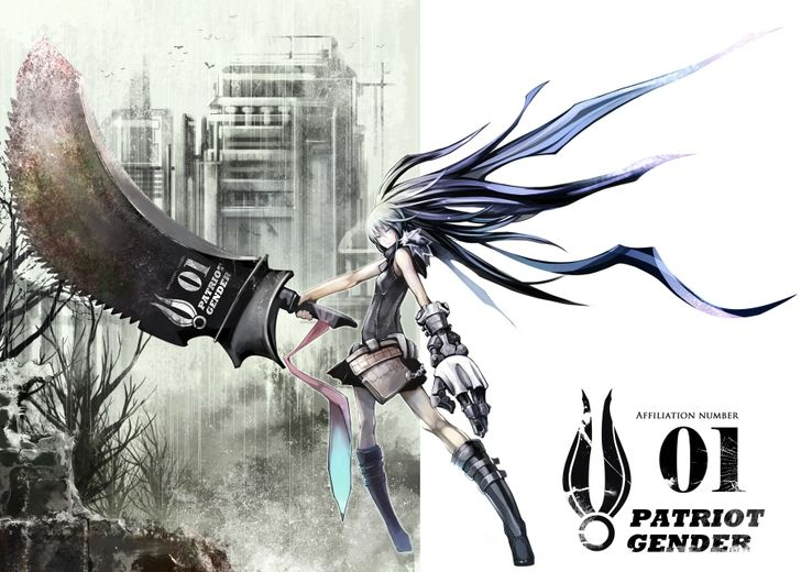 Cool anime weapons long hair weapons digital art - Anime girl with weapon ...