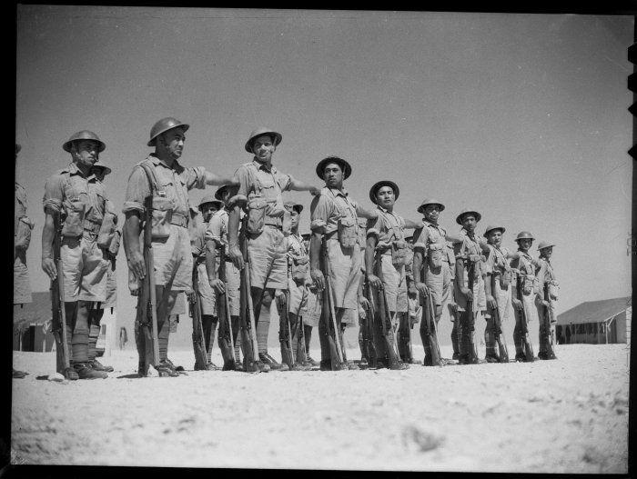 Maori battalion. North Africa 1940.
