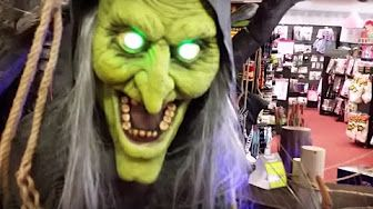 these are all of the spirit halloween 2015 animatronic characters and props for these animated characters and animated monsters are all for sale at the