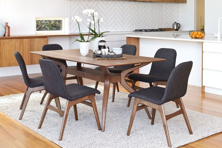 If you are inspired to update or feel like a change, then you should take a look at the Embrace 7 Piece Dining Suite by Nero Furniture. This fabulous suite makes a stylish statement with a modern design you will adore.
