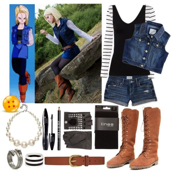 Android 18 inspired (Dragonball Z)