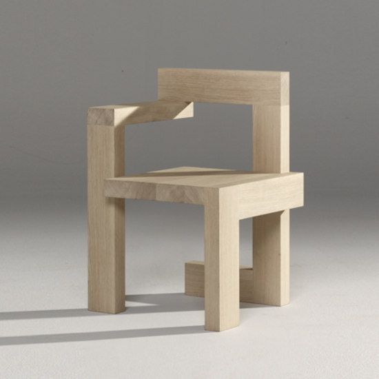Steltman Chair by Rietveld by Rietveld | Product
