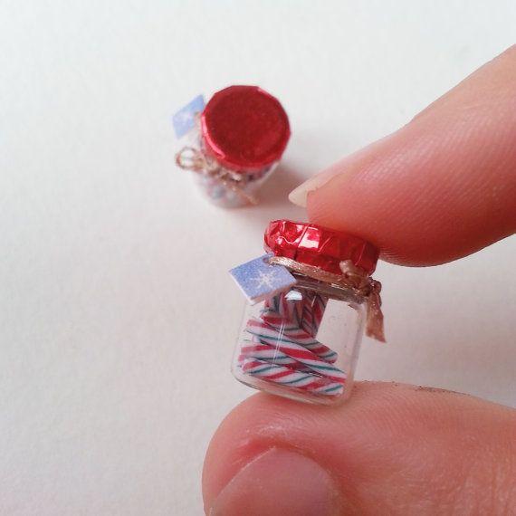 1:12 кукольный домик миниатюрные Рождественские конфеты jar / масштаб по NatAcademy