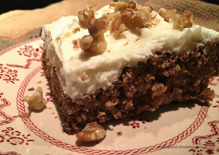 Old Fashion Applesauce Cake Recipe