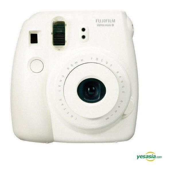 Fujifilm Instax Mini 8 (White) Instant Photo Camera ($103) ❤ liked on Polyvore featuring camera, fillers, accessories, other and electronics