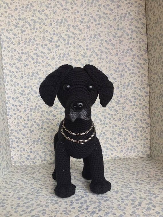 Lenny the Labrador - US Terminology - Amigurumi Crochet pattern by ... | 760x570