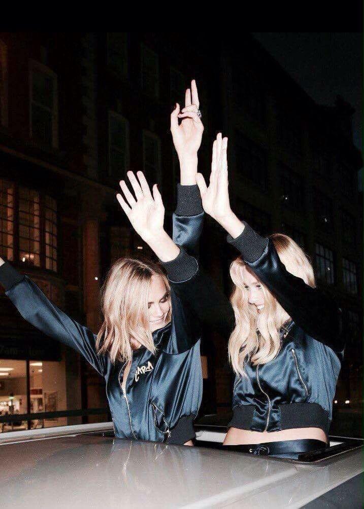 Cara X Delevingne & Margot Robbie