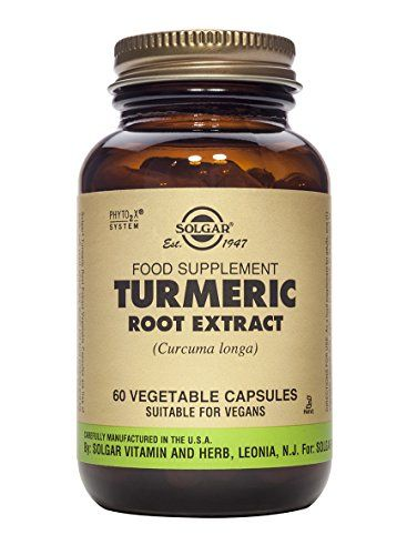 Solgar Standardized Turmeric Root Extract Vegetable Capsules, 60 Count * Read more info by clicking the link on the image.