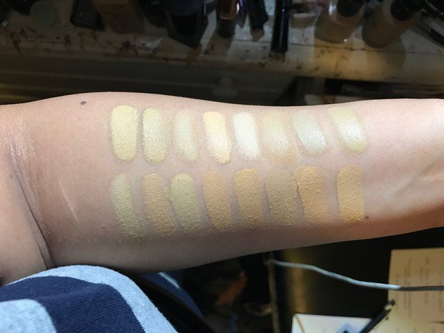 Reddit Olivemua Foundation Swatches For Nc30 Yellow Olive Skin