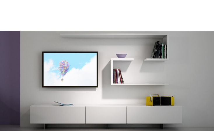 Aménagement Home cinema - Blanc