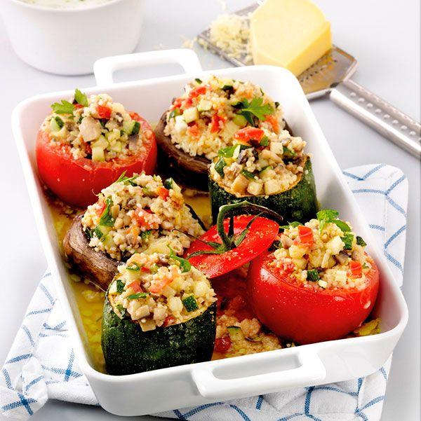 Bonte groenten met couscousvulling #WeightWatchers #WWrecept