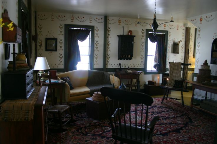 65 Best Colonial Or Early American Living Rooms Images On Pinterest Prim Decor Primitive