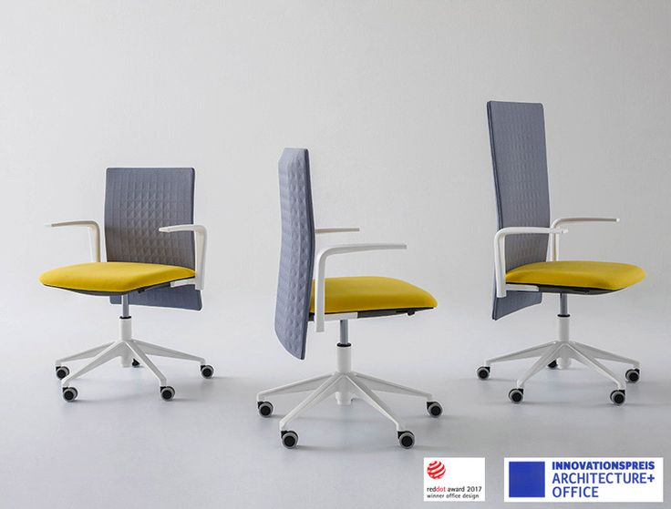 This office chair is one of our most innovative products: minimalist, well-defined lines and with an amazing sound-absorbent backrest. Elodie chair absorbs and reduces sound wave, considerably improving the workplace, even in open-plan set-ups. Elodie was selected at the award Innovationspreis – Architecture+Office during Orgatec Exhibition in Cologne Germania and won the Red Dot Award 2017 for Office Design. www.gaber.it #interiordesign #officedesign #reddotaward