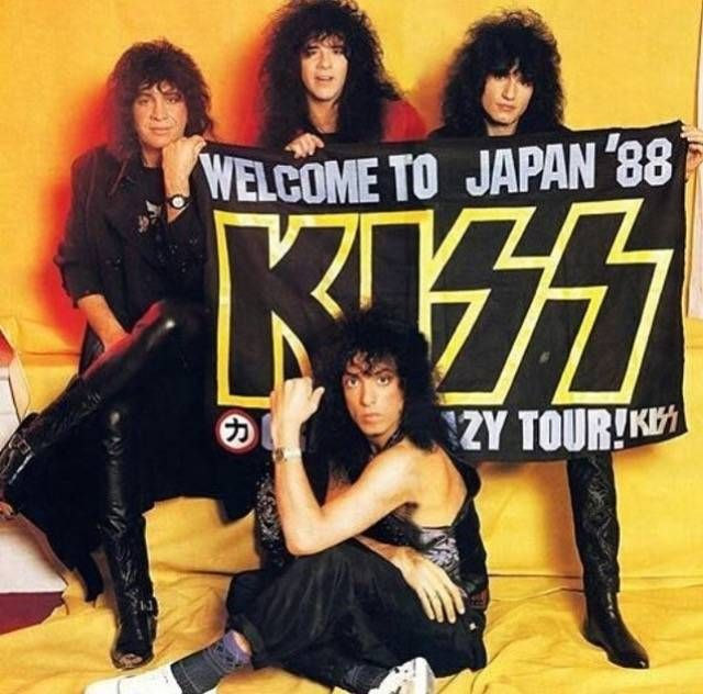 Kiss Without Their Makeup: 132 Best Images About KISS 1984-1995 On Pinterest