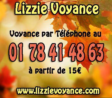 Voyance par téléphone en privé http://www.lizzievoyance.com/