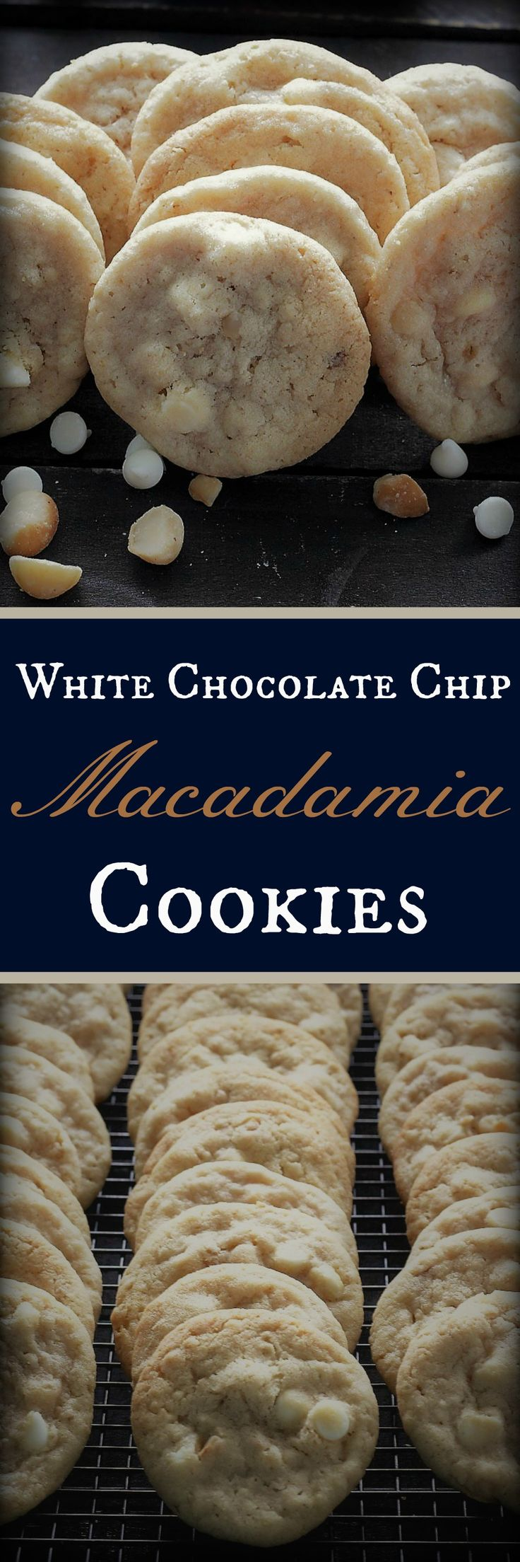 White Chocolate Chip Macadamia Nut Cookies , Recipe Treasures