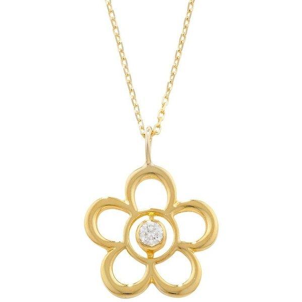 London Road Jewellery Blossom Birthstone Yellow Gold Pearl Pendant W5Xtzq