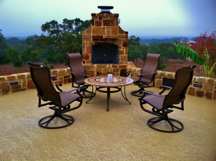 Enhance Outdoor Gatherings With Family And Friends With A Breathtaking Patio.  CALL For More Decorative Patio Resurfacing Options.