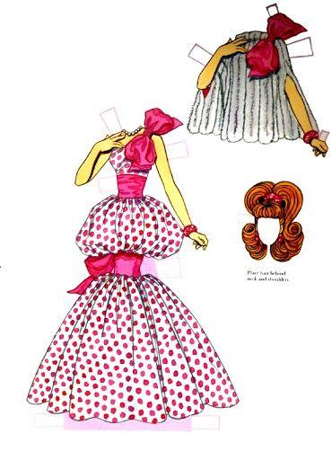 Best Paper Doll Images On Paper Vintage Paper