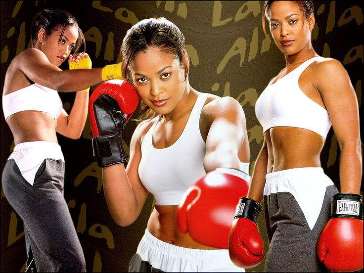 Laila Ali. Strong and sexy