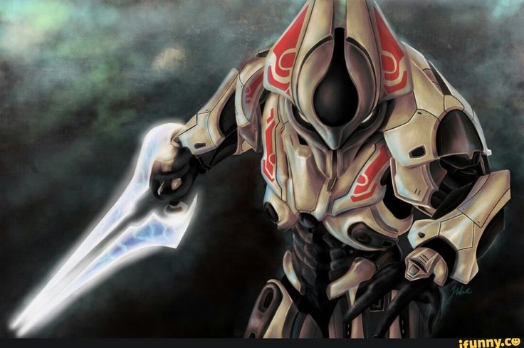 Awesome Halo Reach Sangheili fan art