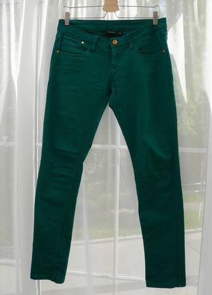 Kupuj mé předměty na #vinted http://www.vinted.cz/damske-obleceni/uzke-kalhoty/12285411-damske-zelene-dziny-esmara-vel-40