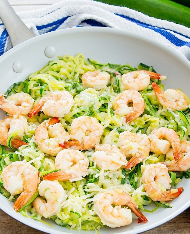 Garlic Parmesan Zucchini Noodles | Kirbie's Cravings | A San Diego food & travel blog
