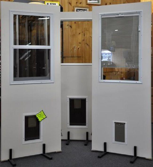 pet ready exterior doors | Door Designs Plans | door design plans ...