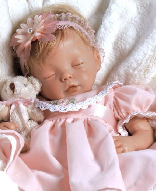 NEW~ Newborn Paradise Gallery doll baby Penelope ensemble
