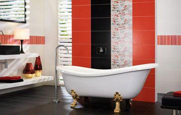 Плитка для ванной комнаты в Агромат. #плиткакиев #tileexpert #interior