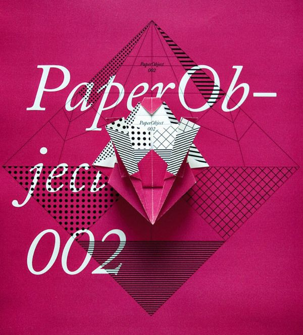 PaperObject_002 (M) by Happycentro , via Behance