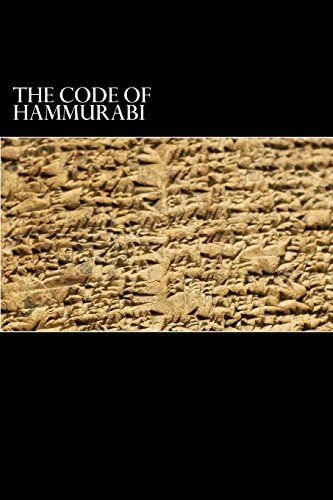 The Code of Hammurabi: King of Babylon B.C. 2285-2242 by ... https://www.amazon.ca/dp/1482349337/ref=cm_sw_r_pi_dp_wT6wxb7S8KWSC