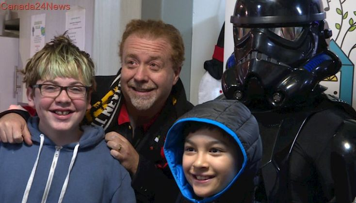 Anonymous Jedi treats 140 at-risk Calgary youth to private Star Wars screening