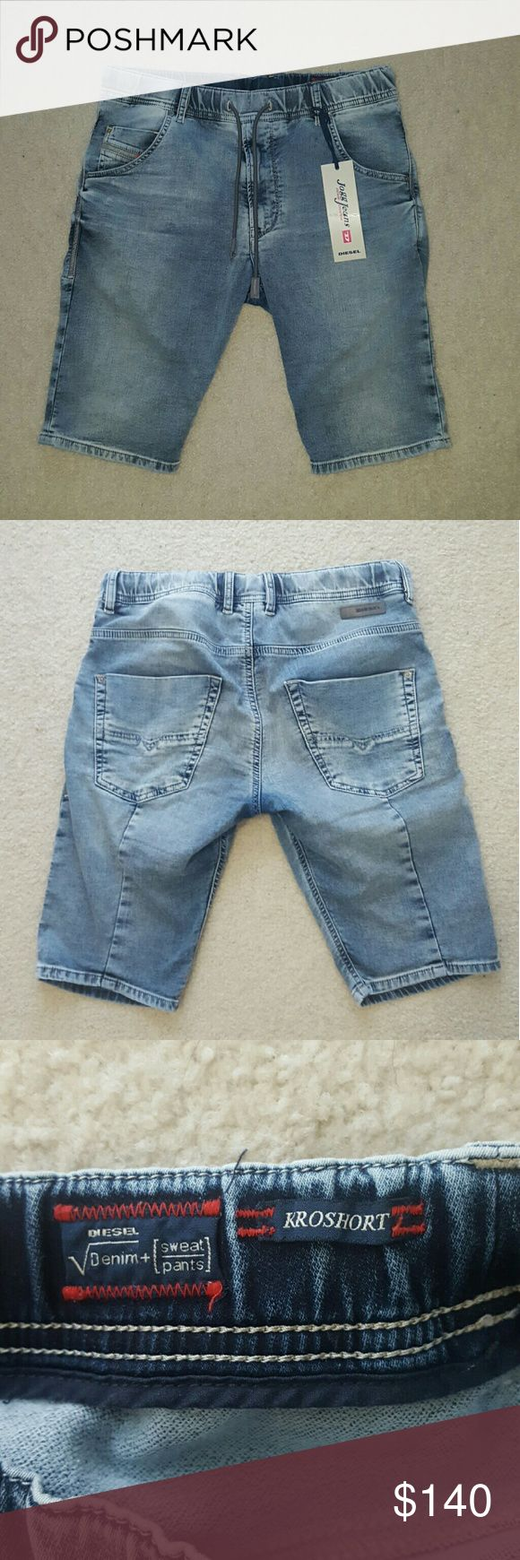 DIESEL KROSHORT JOGGJEANS Brand new comes with tag Diesel Shorts Jean Shorts
