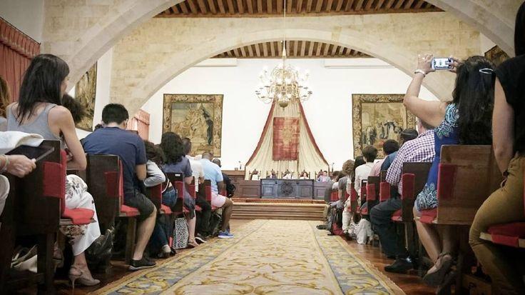 El rector y el director del Centro de Estudios Mexicanos en España inauguran la LIV edición de los #CursosInternacionales de Lengua y Cultura Españolas