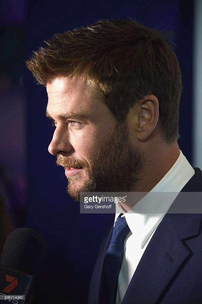 Actor Chris Hemsworth attends the 'There's Nothing Like Australia' campaign launch at Celsius at Bryant Park on January 25, 2016 in New York City.
