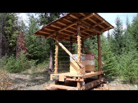 Bee Hut for Improved Honey Bee production - YouTube. A perma bit via permies.com