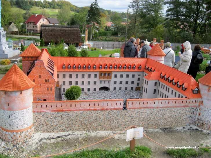 Kashubian Miniature Park in Strysza Buda